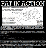 FAT IN ACTION - Now Available, Seven Bucks by Saxxon