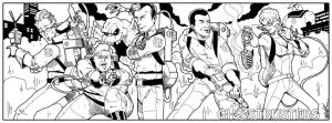 Ghostbusters Facebook Cover by NathanKroll