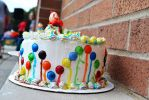 Clown Cake by ChaseStarlit