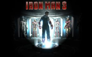 Iron Man 3 - Hall Of Armor by DesignsByTopher