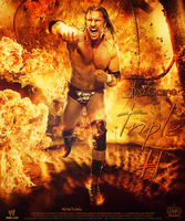 Triple H ~ The Game ~ Poster by MhMd-Batista