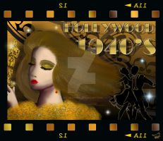 HOLLYWOOD 1940'S by SCT-GRAPHICS