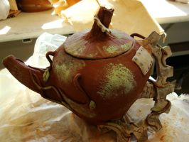 Ceramic Teapot-unfinished by bug-in-my-eye