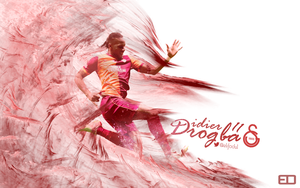 Didier Drogba Wallpaper 2014 by elifodul