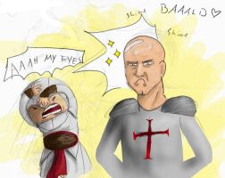 Robert uses sparkle baldness.. by King-of-ROF
