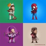 Villains Need Love! pack 2 by Naolito