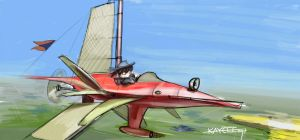 SPEEDPIC--- POWERED FLIGHT by kerol