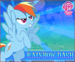 Rainbow Dash MLP:FiM by LionheartKD