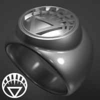 White Lantern Corps ring by TheWWEfan2020