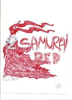 Samurai red by latininho