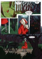Red Riding Hood comic pg2 by LilyScribbles