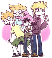 Louise's crew by lostflame41