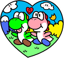 Yoshi Love :3 by Miss-Cleo