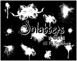 PS Mega Splatter Brushes by Illyera