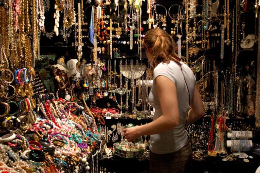 Jewelry Lady by LAPoor
