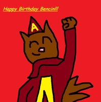 Happy Birthday Bencin by FlameSeville