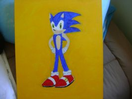 Sonic Painting by Darkman140
