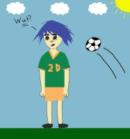 2D Soccer Player Contest Entry by BloodThirstyWolfGirl