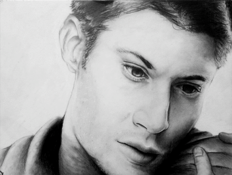 Jensen Ackles by pkmarie