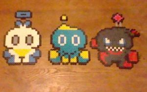 Chao Trio Perler by Perler-Pop