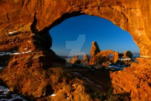 North Window, Arches National ark, Ut. by AmericanSouthwest