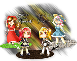 Maids for Baxter by LordNobleheart