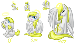 Angelic Pony squiby adopt -limited- by katze-des-grauens
