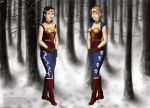 GOT Wonder Woman and Wonder Girl by LadyIlona1984