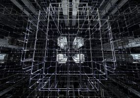 Space Scaffold by luchare