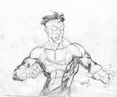 INVINCIBLE sketch by bobbett