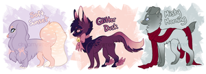 Canine Adopts Auction [CLOSED] by dreamywren