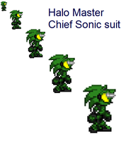 Halo Master Chief Sonic Suit by Kmanx128