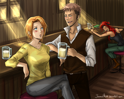 Do you want to drink something with me? by Jeannette11