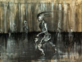 The Fall of Man by orbituated