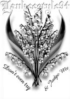 Lily of the Valley TATTOO by Yankeestyle94