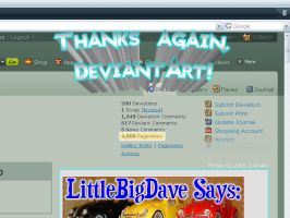 4000 pageviews - - Thanks by LittleBigDave