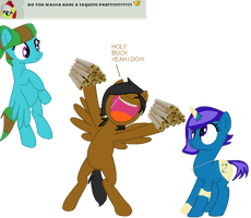 .:Ask 5:. TAQUITO PARTY! by MelchiorFlyer