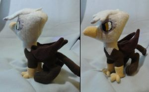 Gilda the Griffon Plushie by turbolen7