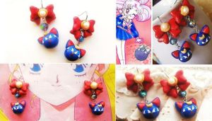 Luna-P Inspired Magical Earrings by mayumi-loves-sora