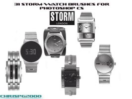 Storm-Watch Brushes by chrispg2000