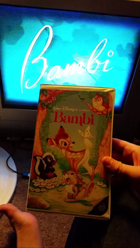 My VHS Collection 24: Bambi 1989 VHS by Scamp4553