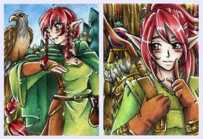 Elven Sisters by Hyacinthley