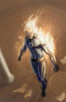 Johnny Storm Final by blacksmithx