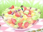 David sat on a bowl of fruit by PrinceEithan28