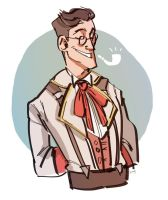 silly doodle medic thing by sikkofoley