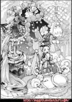 arrange the Christmas tree by peggyly
