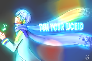 KAITO - Tell your World by LullaTheOtaku
