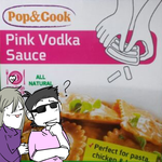 Pink Vodka Sauce by AnikiGin