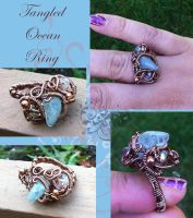 Tangled Ocean Ring by tanyquil