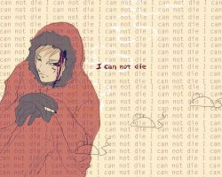 I can not die by Gregory-Welter